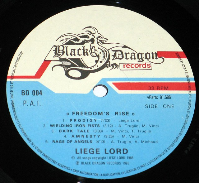 "Liege Lord Freedom's Rise 12"" Vinyl LP"