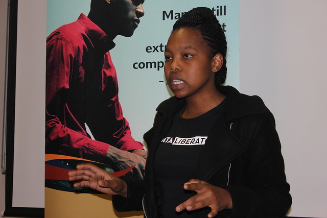 Dineo at RHOK Pretoria 2016