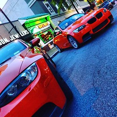 #bmw #m3 #orange #lime #limerockpark