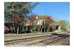 Figeac station. 8.4.11