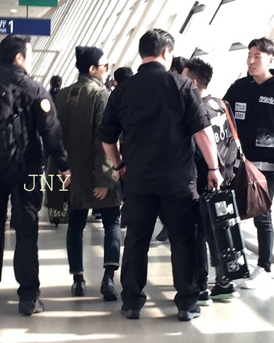Big Bang - Fuzhou Airport - 29mar2015 - G-Dragon - jenny35 - 02