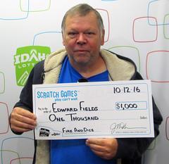 Edward Fields - $1,000 Fire & Ice