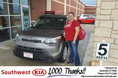#HappyAnniversary to Heather and your 2016 #Kia #Soul from Everyone at Southwest KIA Rockwall!
