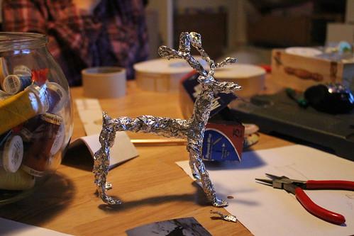 First Wire Sculpture (1)