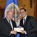 Secretary General Receives Permanent Representative of Panama