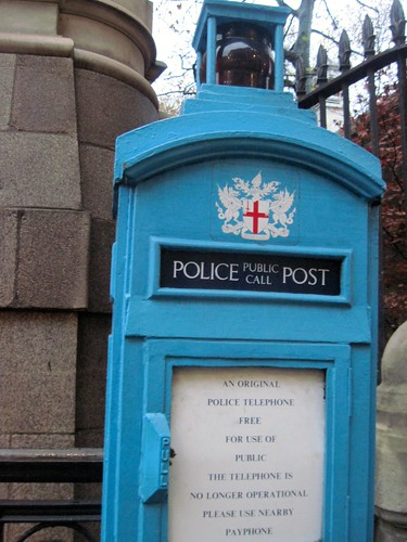 Treasure Hunt Walk - Police Call Box