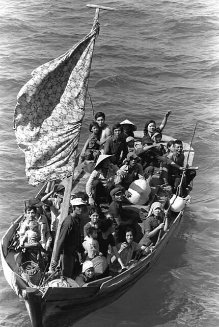 Vietnamese boat people - Thuyền nhân Việt Nam - 15/5/1984