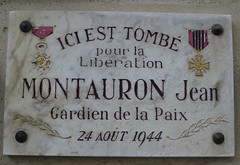 Photo of Marble plaque № 33167