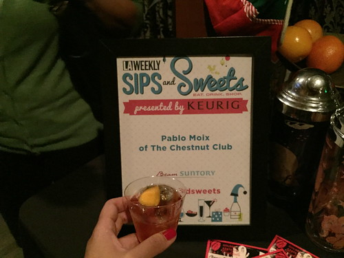 The Chestnut Club at LA Weekly Sips and Sweets
