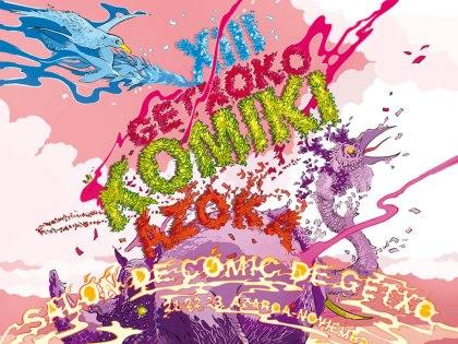 XIII Salón del #Comic de Getxo en la carpa de la plaza Estación de Las Arenas (Getxo, Bizkaia)