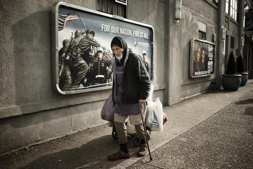 4 au 25 novembre 2014 - Exposition Vétérans sans-abris de François Pesant