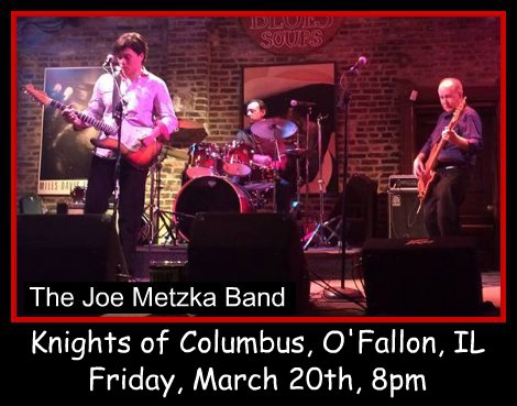 Joe Metzka Band 3-20-15