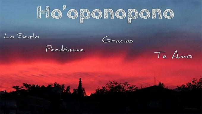 hoponopono es una oración para conseguir energía