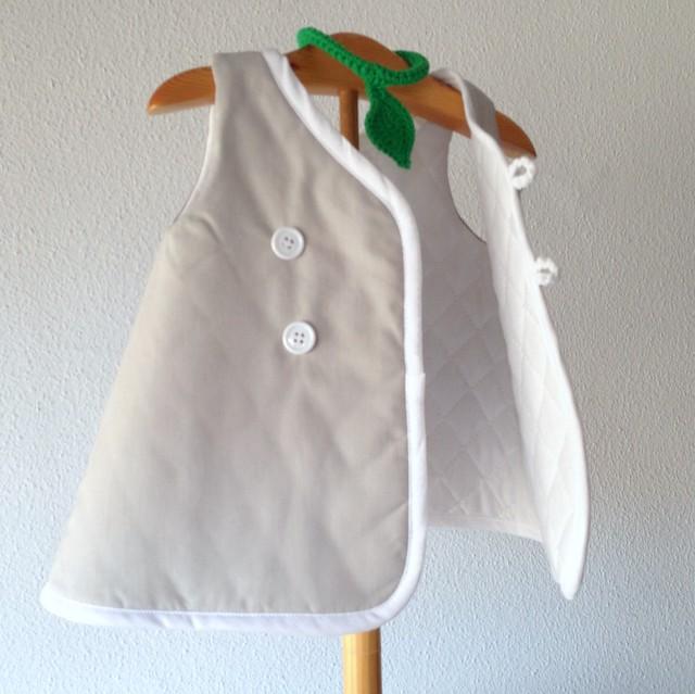 vestido bebés acolchado