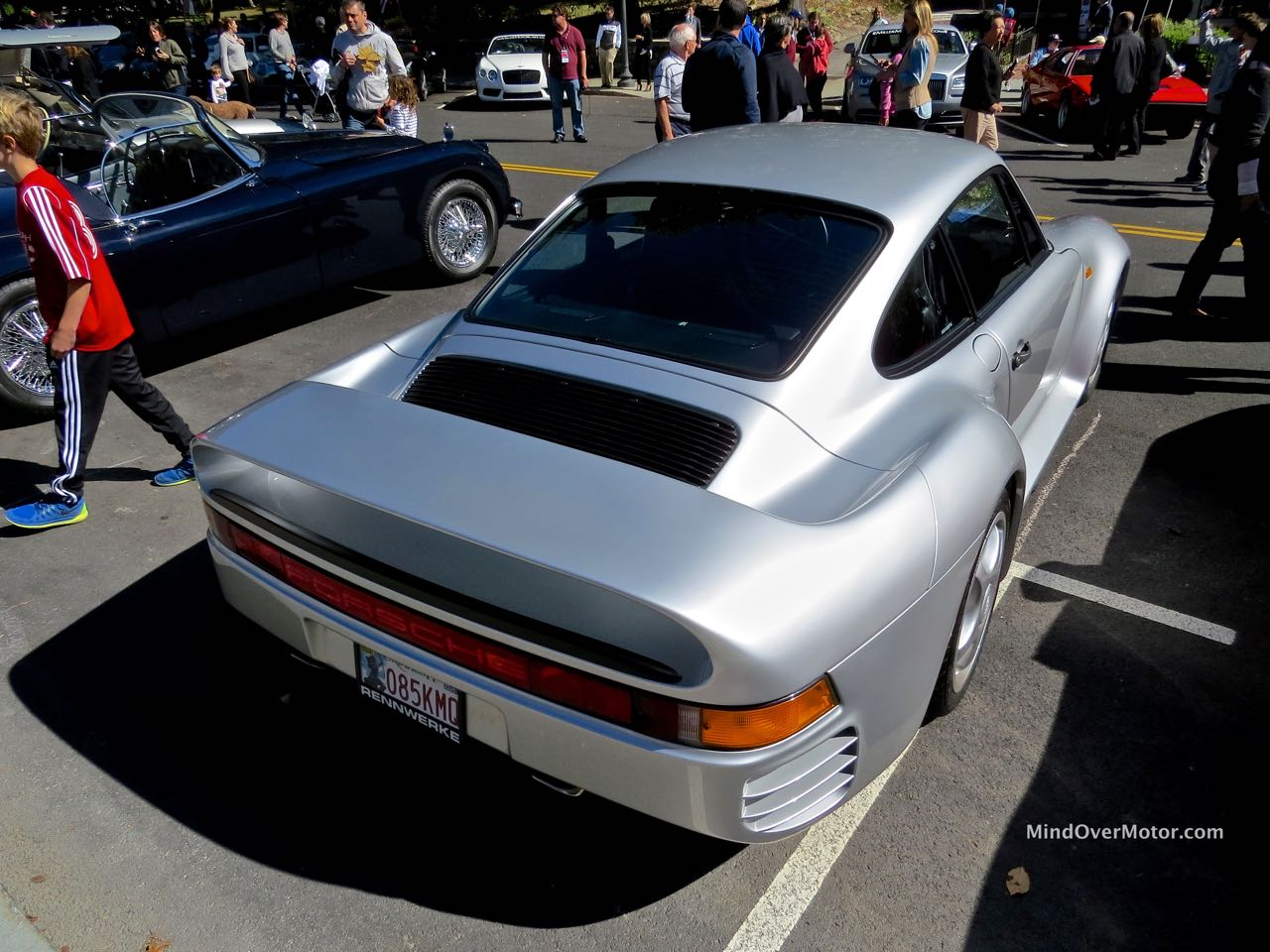 Porsche 959 Rear