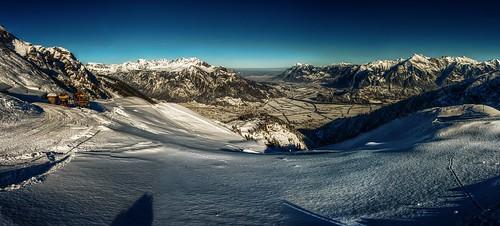 schnee winter snow mountains alps schweiz switzerland suisse ostschweiz berge alpen svizzera rheintal mels rhinevalley sargans pizol