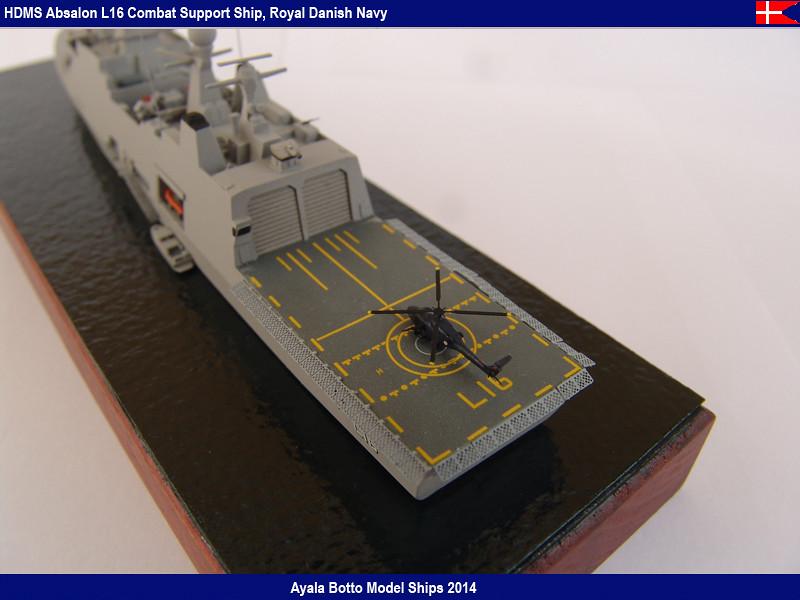 HDMS Absalon L-16  Navire de Soutien Multifonctions - NNT 1/700 16022120954_8b692ddb06_b