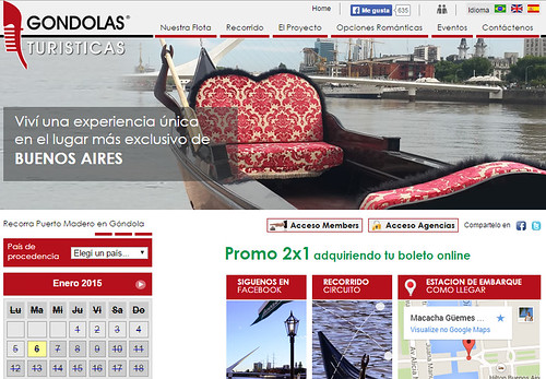 Gondolas Turísticas - Buenos Aires