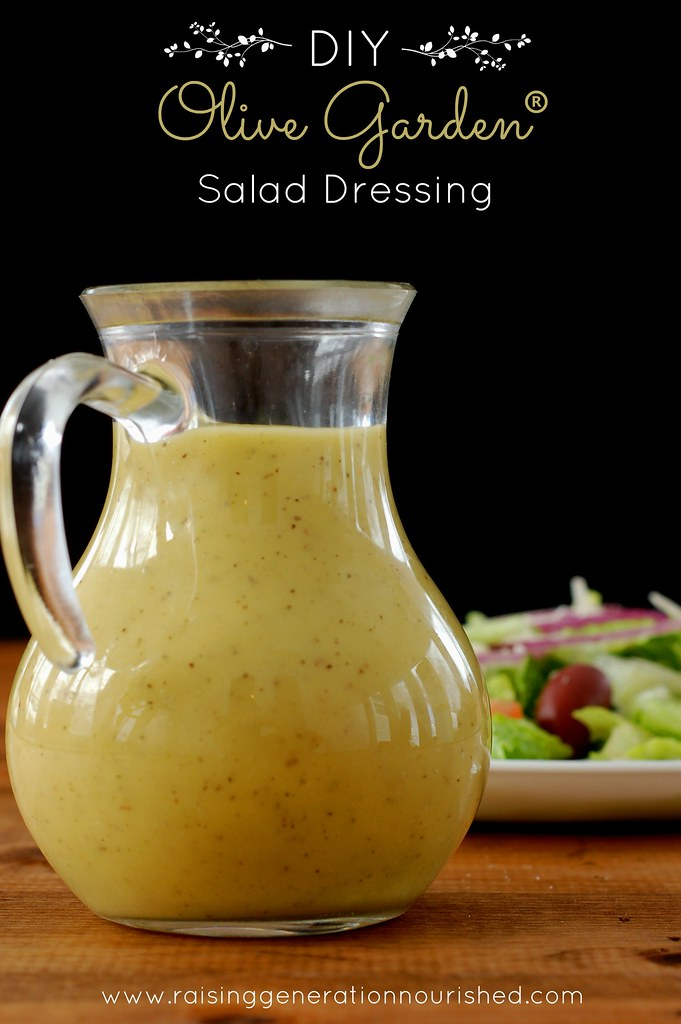 Diy homemade olive garden salad dressing raising generation nourished for Olive garden salad dressing ingredients