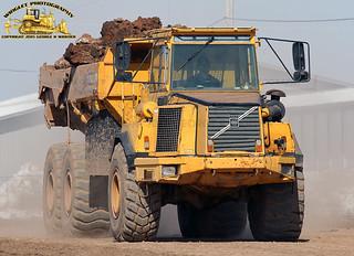 Volvo A25C Articulated 6x6 Dump Truck