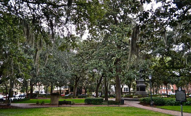 parks of savannah - savannah tours