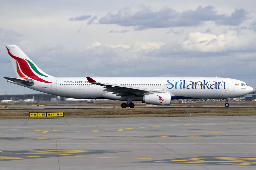 4R-ALL - A333 - SriLankan Airlines