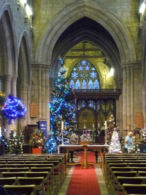 Christmas Tree Festival St Marys Church Melton Mowbray ...