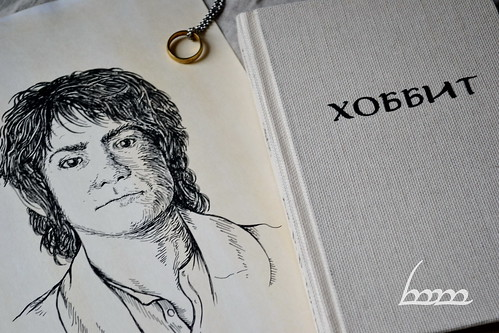 Young Bilbo Baggins portrait