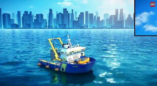 LEGO City Exploration Boat