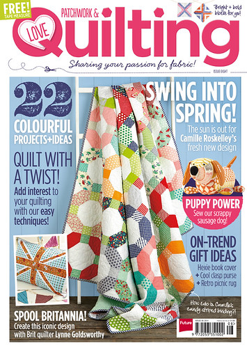 Love Patchwork & Quilting magazine - Issue 8