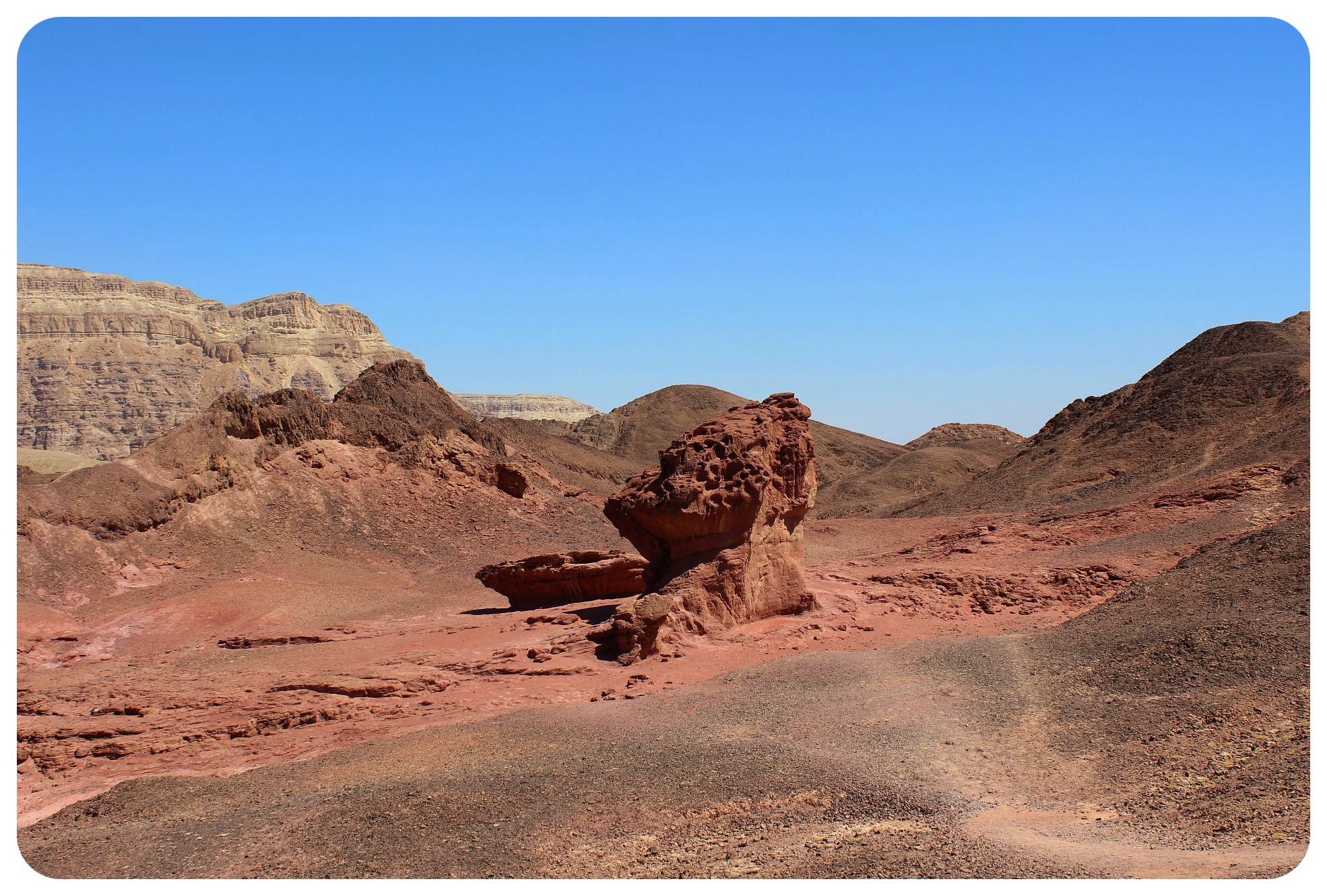 timna park rock formations