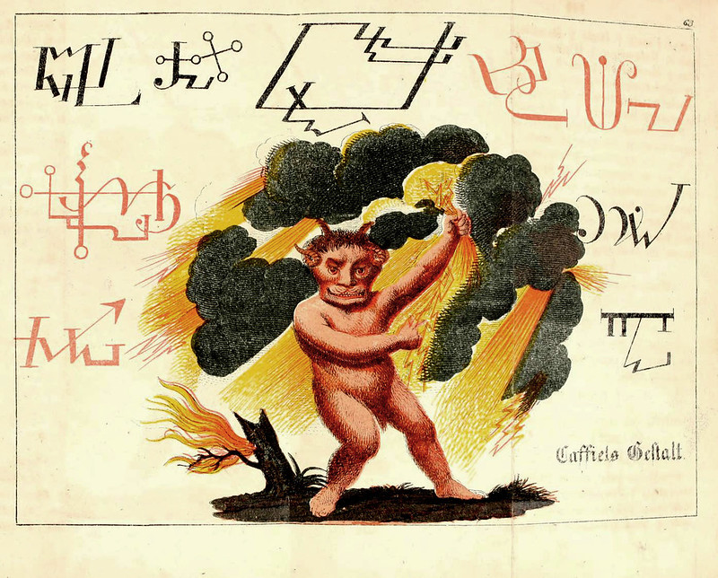 Johann Scheible - Doktor Johannes Faust's Magia naturalis et innaturalis, 1849 (1)