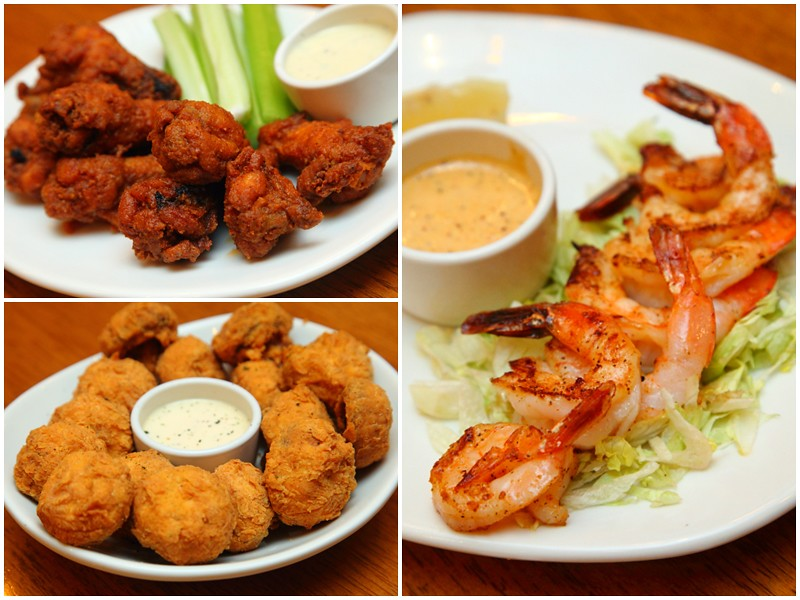 Outback Steakhouse Appetizers