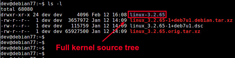 How to install full kernel source on Debian or Ubuntu - Ask