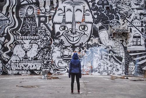 Toronto winter walk 2015