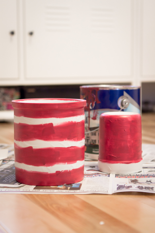 Striped Porcelain Jar: wip