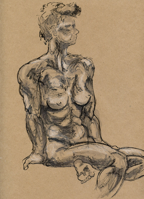 Life Drawing - Sandy Hill, 2015 -3