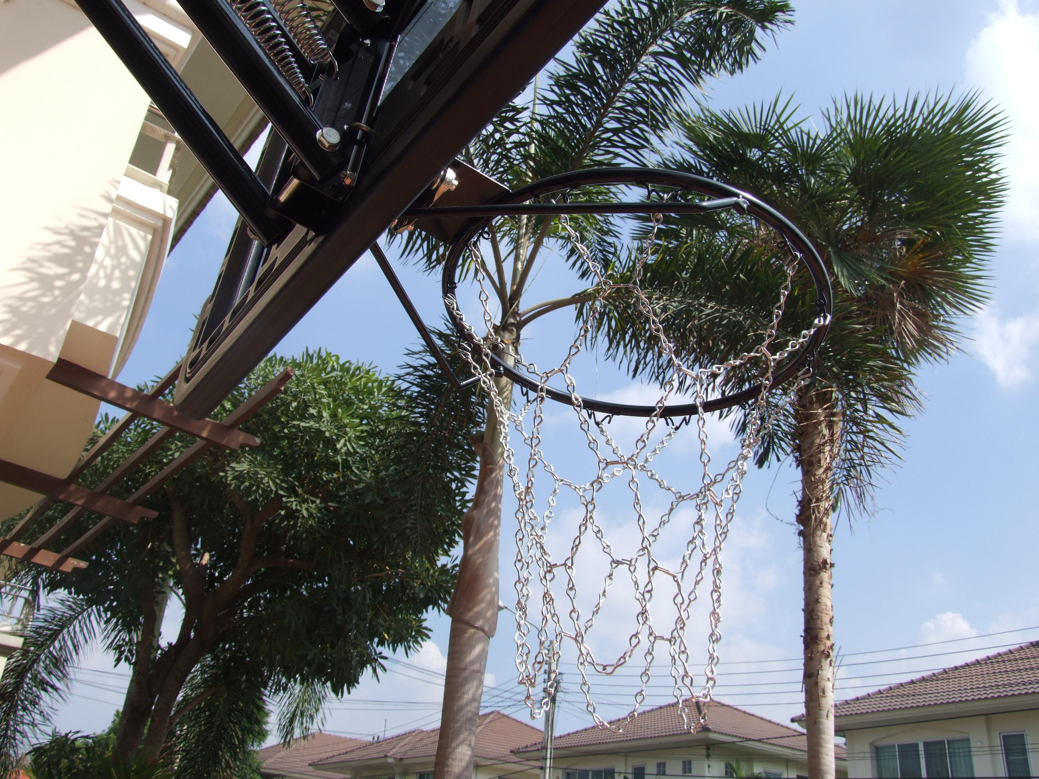 ตาข่ายแป้นบาส basketball net