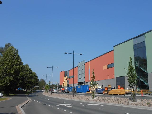 Hämeenlinnan moottoritiekate ja Goodman-kauppakeskus: Työmaatilanne 4.8.2014 - kuva 10