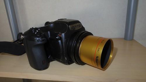 Pentax 645Z with Schneider Kreuzanach Cinelux Ultra MC 70mm f2
