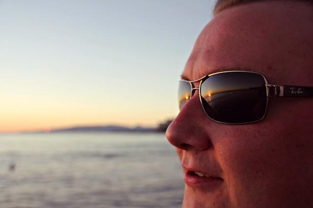 Sunset from Sunglasses