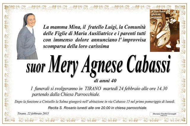suor Mery Agnese Cabassi