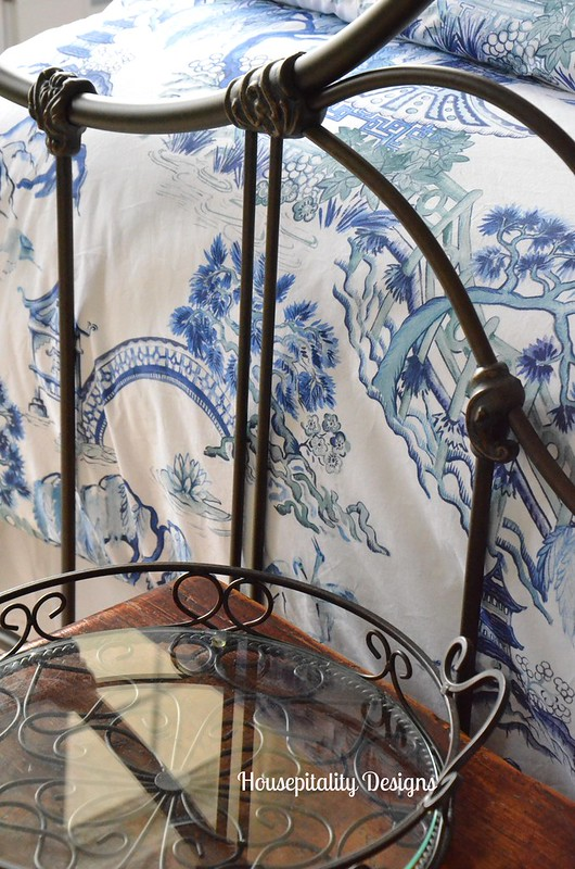 Pottery Barn Darcy Toile Bedding-Housepitality Designs