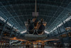 Behind the Space Shuttle