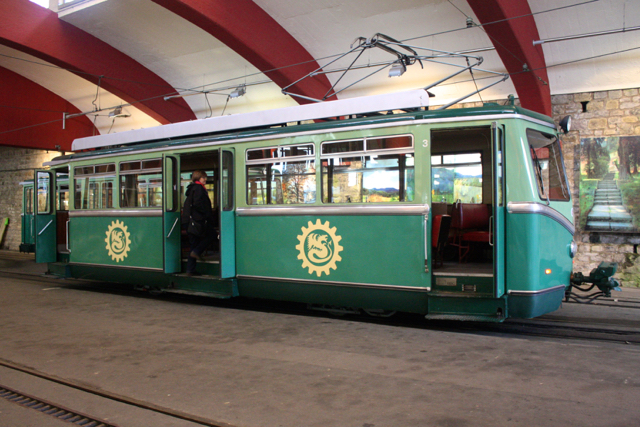 Tram to Drachenfels, Bonn, Germany