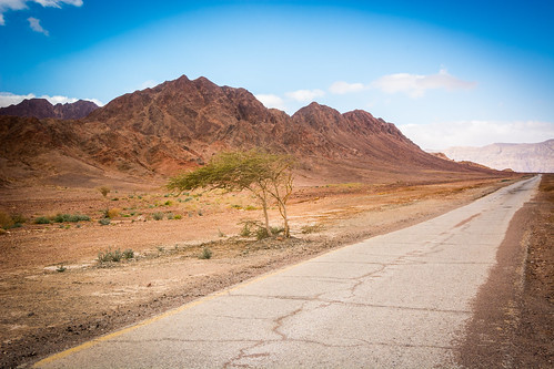 road landscape israel line leading 2015