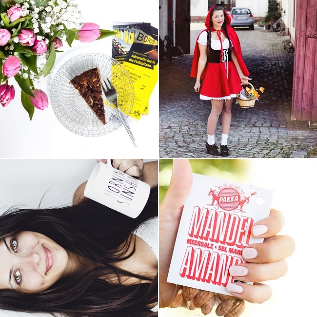 Instagram, Rotkäppchen Kostüm günstig, ungeschminkt, Degustabox Februar