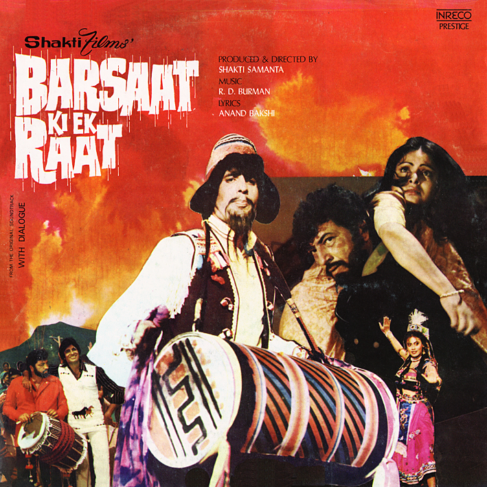 Rahul Dev Burman: Barsaat Ki Ek Raat (1980) ~ Music From ...