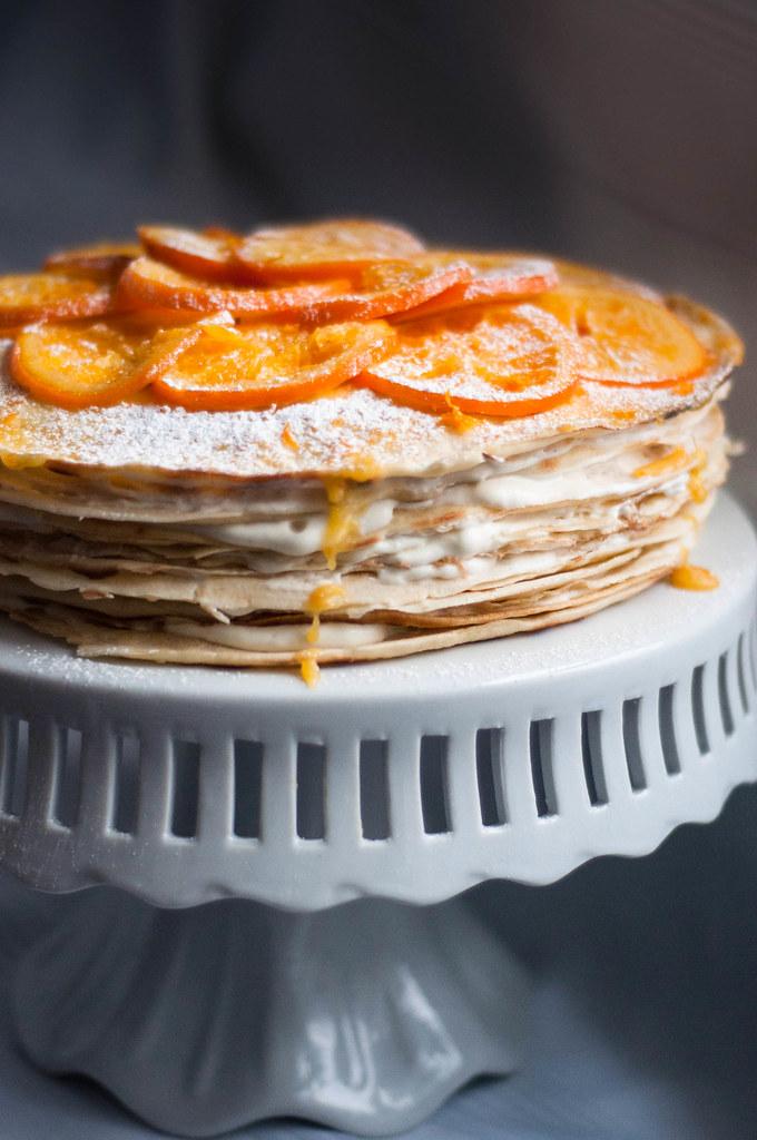 crepe suzette stack