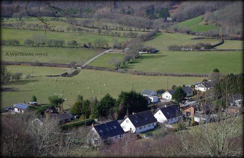 houses valley fields ceredigion goginan